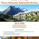 Parco naturale Adamello Brenta – Easy Trekking partenza 1 Agosto 2021