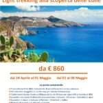 Isole Eolie in light trekking – partenze speciali di primavera